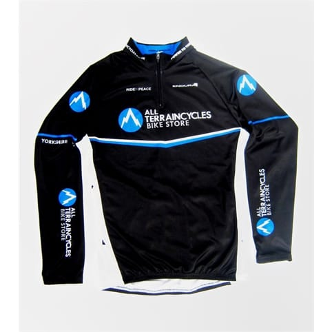 All Terrain Cycles Team Kids Long Sleeve Jersey