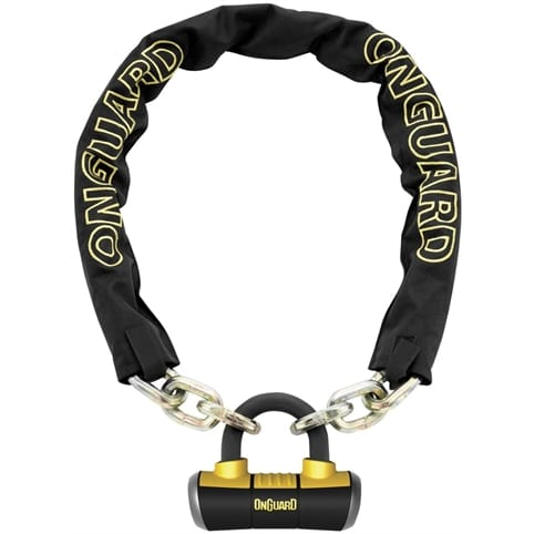 OnGuard Mastiff Loop Chain with X4 Padlock 110cm x 10mm