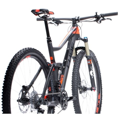 Cube 2015 Stereo 120 Super HPC Race 29 MTB Bike
