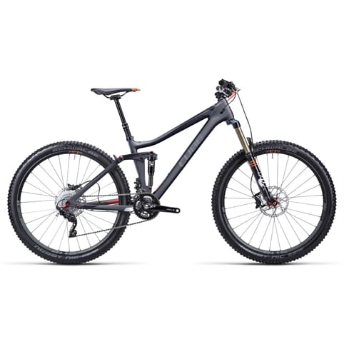 Cube 2015 Stereo 140 Super HPC Race 27.5 MTB Bike