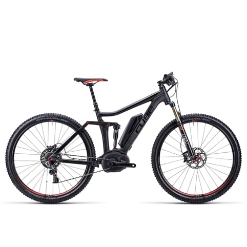 Cube 2015 Stereo Hybrid 120 SL 29 Electric FS MTB Bike