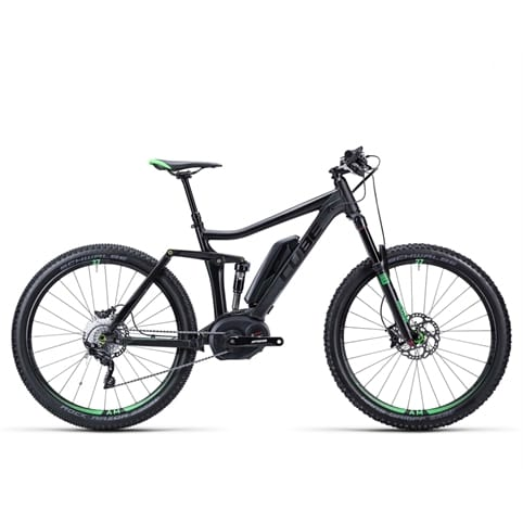 Cube 2015 Stereo Hybrid 140 HPA Race NYON 27.5 Electric FS MTB Bike