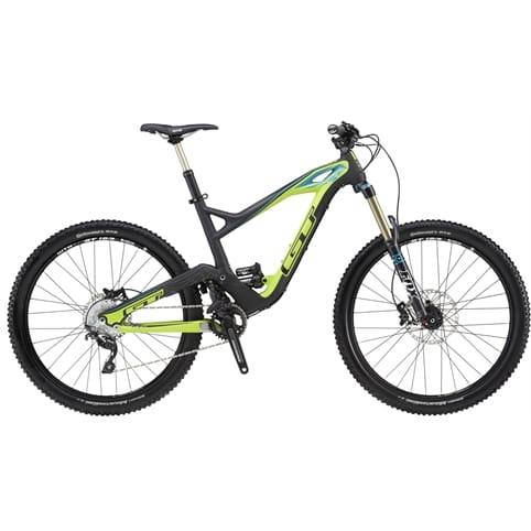 GT 2015 Force X Carbon Expert 27.5 Full Suspension MTB Bike