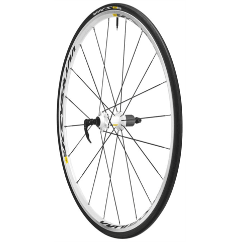 Mavic Ksyrium Equipe S White Rear Wheel 2015