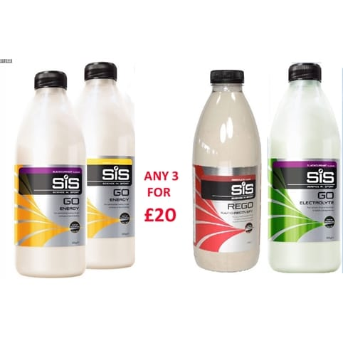 SIS GO & REGO Seasonal Offer ** 3 for £20 **