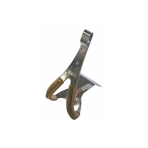 MKS Steel Toe Clips with Leather