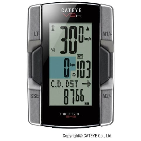 Cateye V3nt Speed/Cadence/Heart Rate Computer
