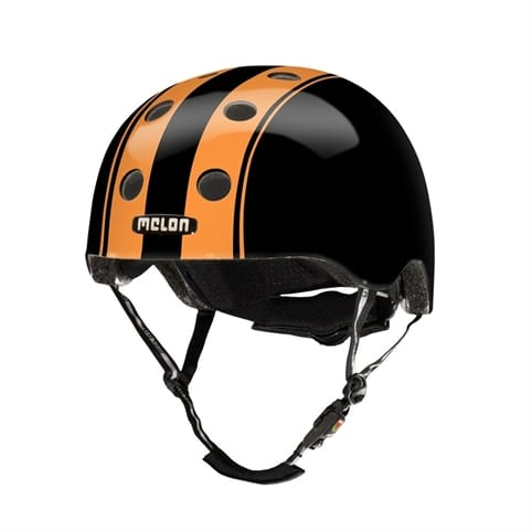 Melon Double Orange Black Skate Helmet