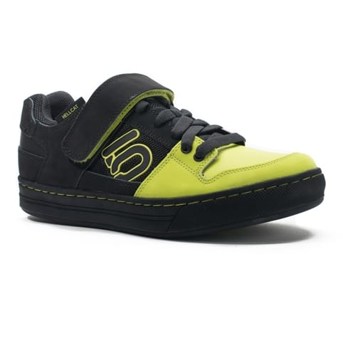 FIVE TEN HELLCAT CLIPLESS MOUNTAIN BIKE SHOE [BLACK/LIME]