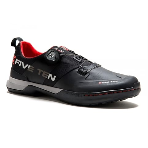 FIVE TEN KESTREL CLIPLESS MOUNTAIN BIKE SHOE [TEAM BLACK]