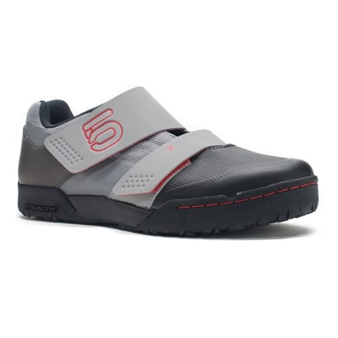 Five Ten Maltese Falcon Race Clipless MTB Shoes - MONO GREY / RED