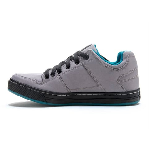 Five Ten Freerider Canvas Womens MTB Shoes - GREY / TEAL