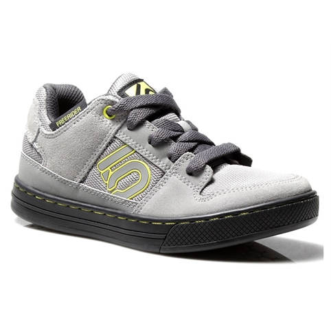 Five Ten Freerider Kids MTB Shoes - GREY / LIME PUNCH