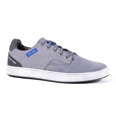 FIVE TEN SLEUTH CANVAS SHOE [GREY/BLUE]
