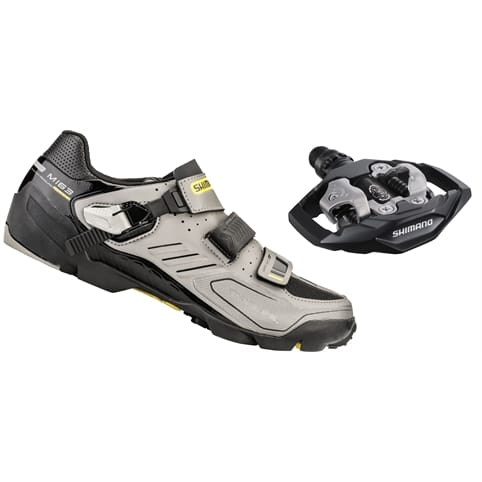 Shimano M163 MTB SPD Shoes - 25th ANNIVERSARY LTD EDITION + M530 pedals