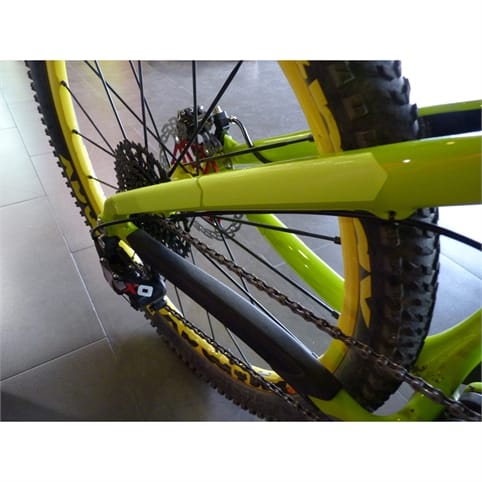 AMS Honeycomb XL Frame Guard - Neon Yellow