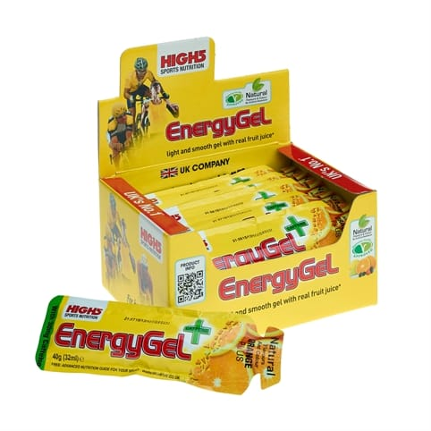 High5 Energy Gel Plus - Box of 20