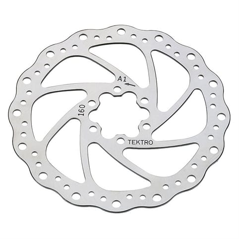 Tektro Wavy Disc Brake Rotor 180mm
