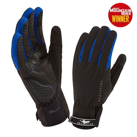 SEALSKINZ ALL WEATHER CYCLE GLOVE [BLACK/NAVY]