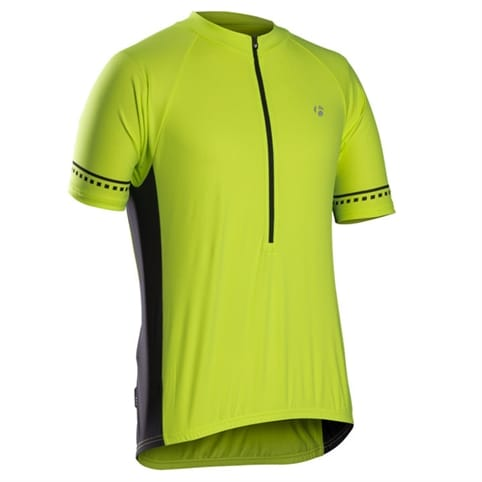 Bontrager Solstice Short Sleeve Jersey - Visibility Yellow