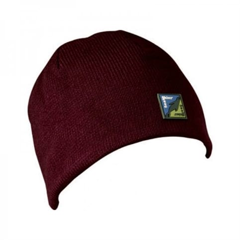 SealSkinz Burgundy Waterproof Beanie Hat