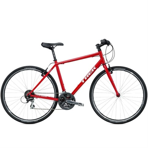 Trek 2015 7.2 FX Hybrid Bike [Chi Red]