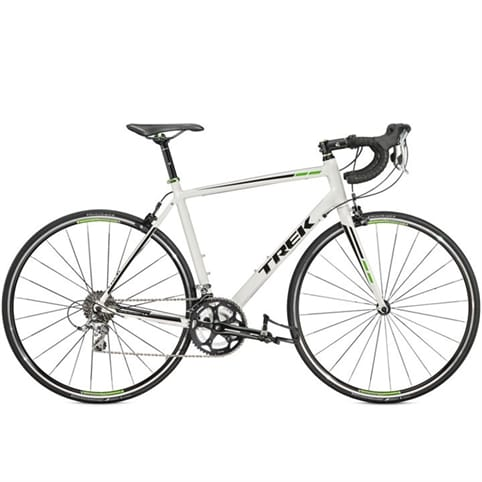 Trek 2015 1.5 Compact Road Bike [Crystal White/Lime Green]