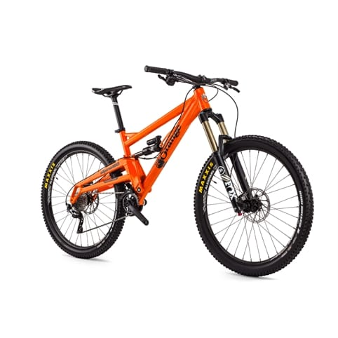 "Orange Alpine 160 Pro 27.5"" Full Suspension MTB Bike 2016 w/ UPGRADES"