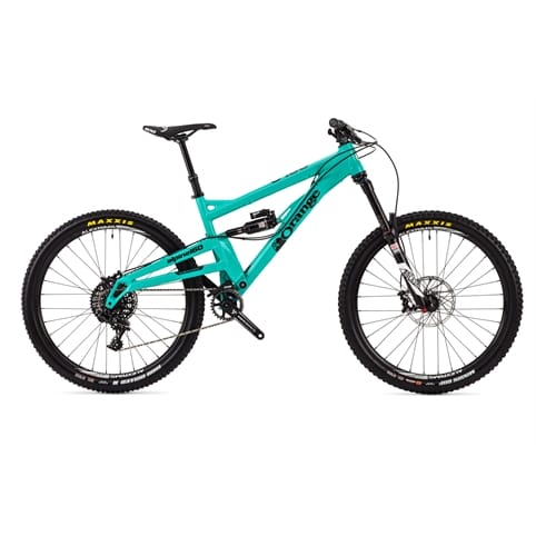 "Orange Alpine 160 RS 27.5"" Full Suspension MTB Bike 2016"