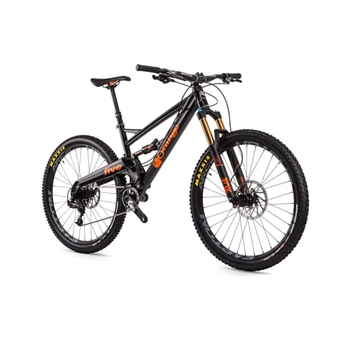 "Orange Five Factory 27.5"" Full Suspension MTB Bike 2016"