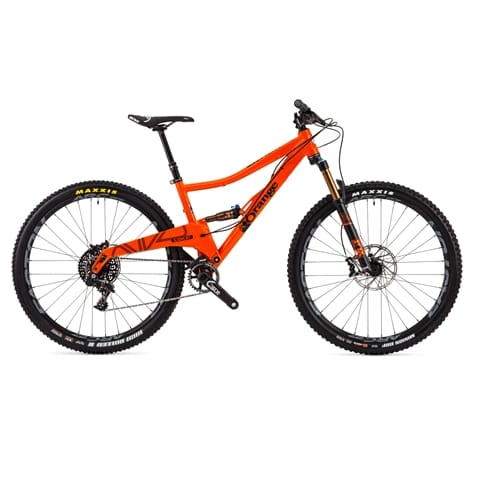 "Orange Segment Factory 29"" Full Suspension MTB Bike 2016"