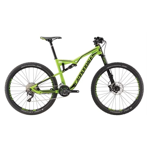 Cannondale Habit AL 4 FS MTB Bike 2016