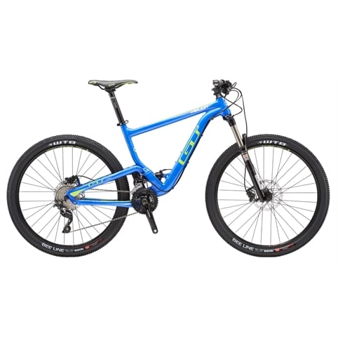 GT Helion Elite FS MTB Bike 2016