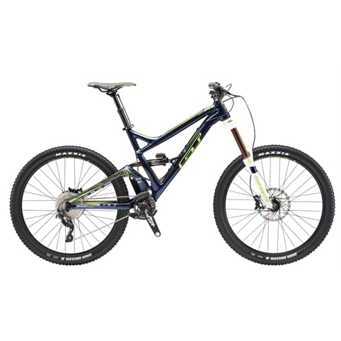 GT Sanction Expert FS MTB Bike 2016