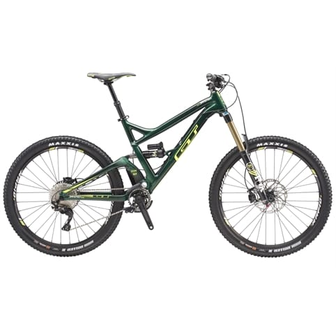 GT Sanction Pro FS MTB Bike 2016