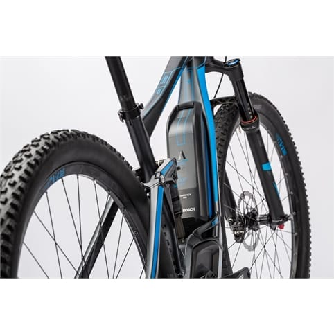 "Cube Stereo Hybrid 120 HPA Race 500 29"" FS Electric MTB Bike 2016"