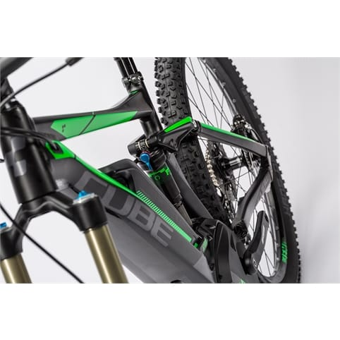 "Cube Stereo Hybrid 140 HPA Race 500 27.5"" FS Electric MTB Bike 2016"