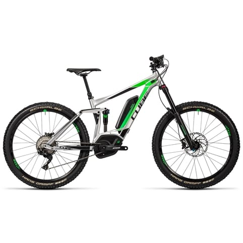 "Cube Stereo Hybrid 160 HPA Race 500 27.5"" FS Electric MTB Bike 2016"
