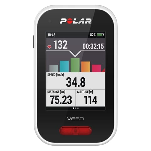 Polar M450 GPS HR Bike Computer with HRM