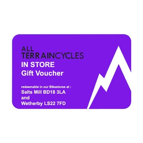 All Terrain Cycles In Store Gift Voucher