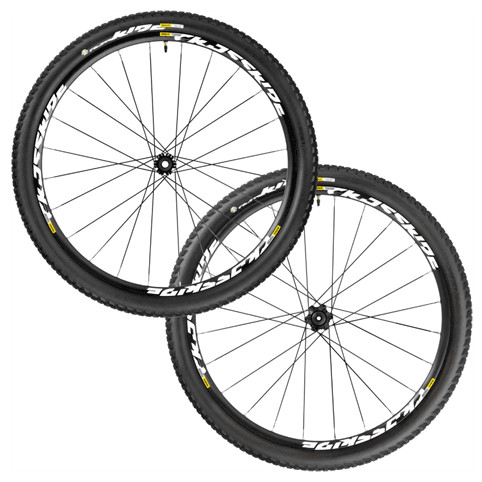 "Mavic Crossride Tubeless Quest WTS 29"" Rear Wheel 2016"