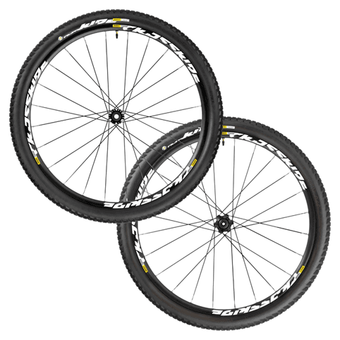 "Mavic Crossride Tubeless Quest WTS 27.5"" Wheelset 2016"