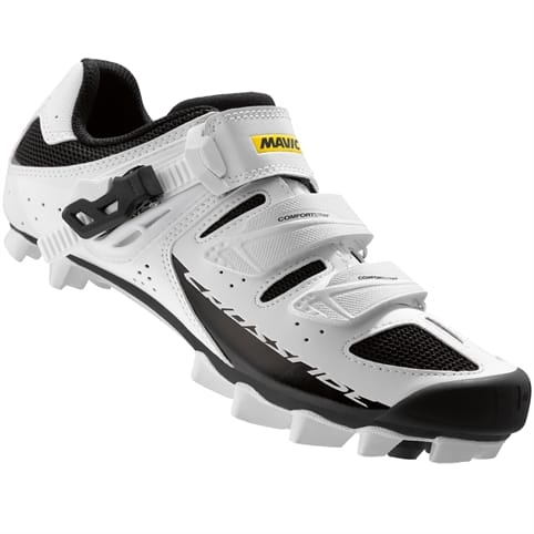 MAVIC W CROSSRIDE SL ELITE MTB SHOE [WHITE/BLACK]