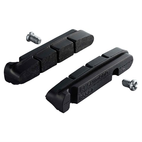 Shimano R55C4-1 Brake Shoes Inserts & Fixing Bolts
