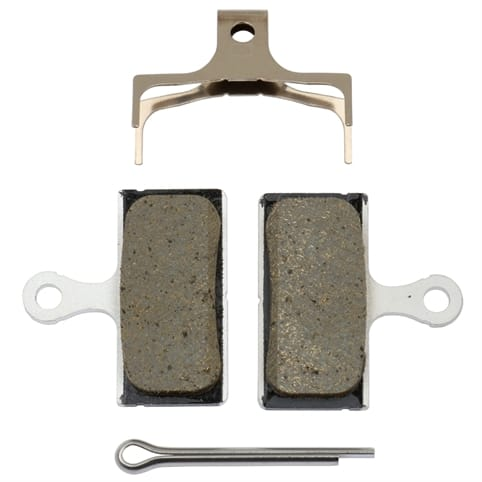 Shimano G02A-R Resin Disc Brake Pads and Springs