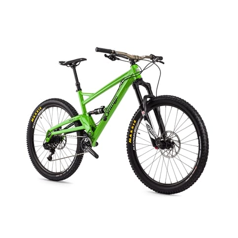 "Orange Four RS 27.5"" Full Suspension MTB Bike 2016 [CUSTOM COLOUR STERLING SILVER]"