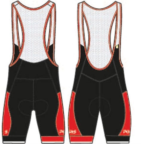 Polaris Lattitude Road Cycling Bib Short
