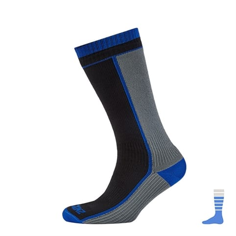 SealSkinz Mid Weight Mid Length Waterproof Sock
