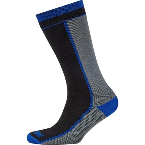 SEALSKINZ MIDWEIGHT MID-LENGTH XLARGE WATERPROOF SOCK