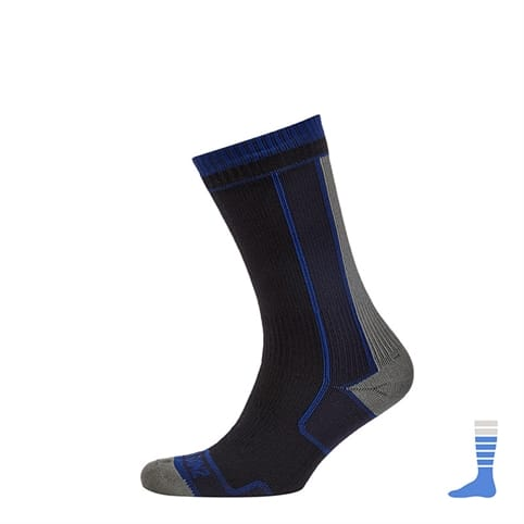 SealSkinz Thin Mid Length Waterproof Sock